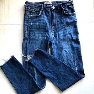Zara Authentic Demin by TRF high waisted Size 10